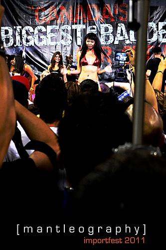 discount swimsuits car bikini models Mantleography Toronto Importfest 333x500