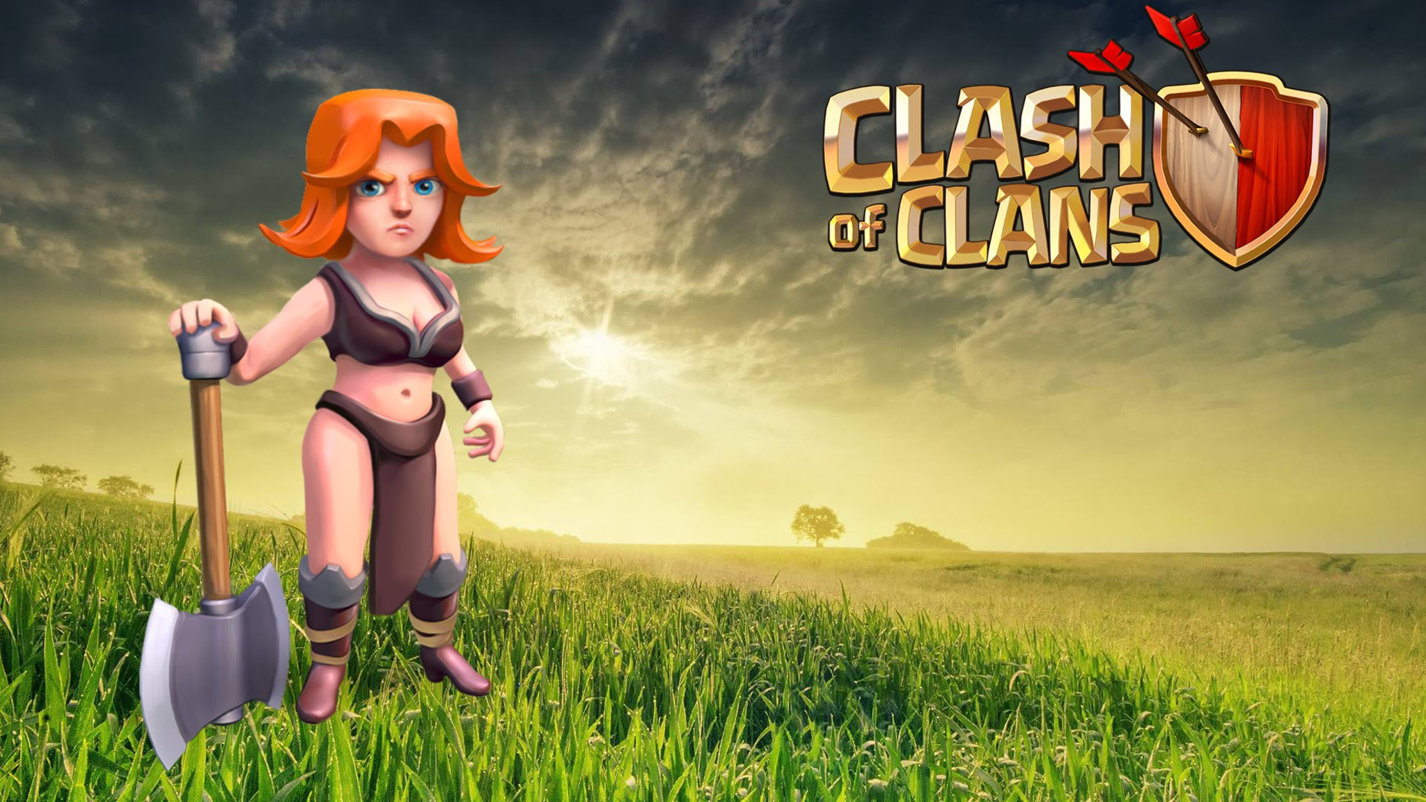 Clash Of Clans Wallpapers and Photos 4K Full HD Everest Hill 2048x1152