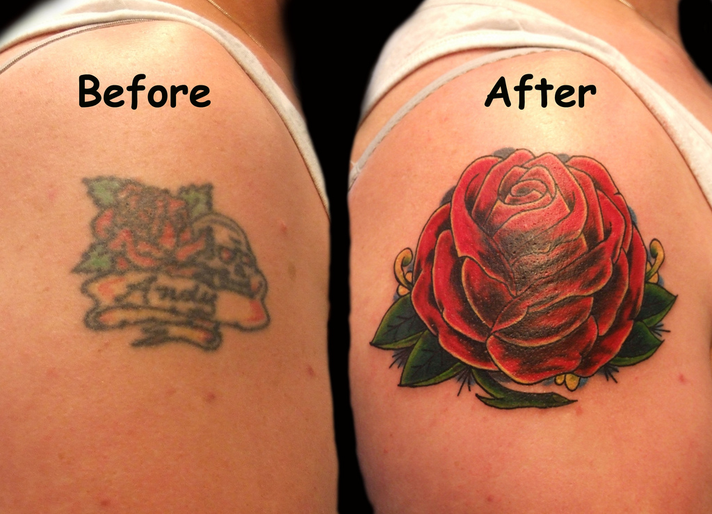 it generally the tattoo ends up requiring a cover up 1024x740