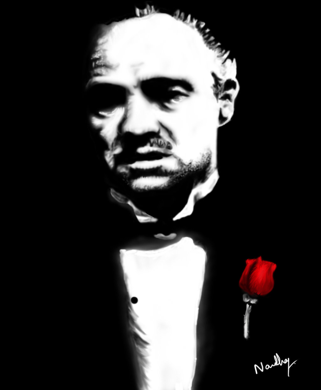 Don Vito Corleone by darkdef92 1024x1243