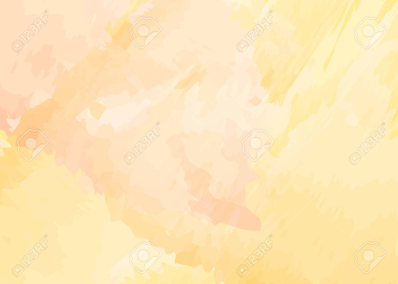 Yellow Watercolor Background With Light Pink Hue Abstract 1300x928