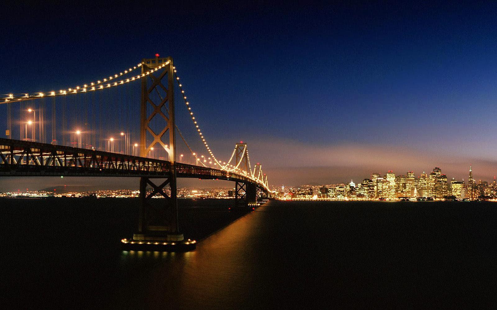 Tag San Francisco Bay Bridge Wallpapers BackgroundsPhotos Images 1600x1000