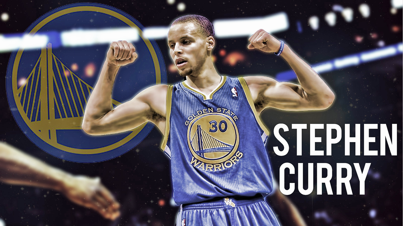 FunMozar Stephen Curry Splash Wallpaper 1280x720