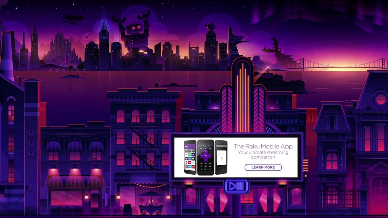 New Roku Screensaver City Stroll Movie Magic 1280x720