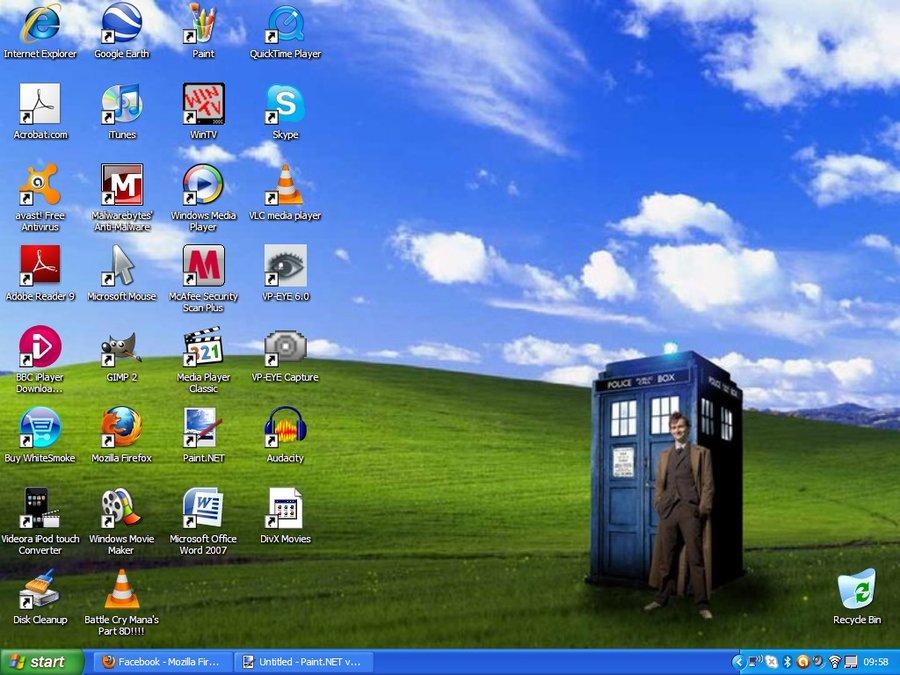 Doctor Who Desktop background by rockerchick511 900x675