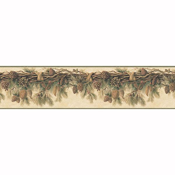 Forest Border   Wyola   ECHO LAKE LODGE Wallpaper by Chesapeake 600x600