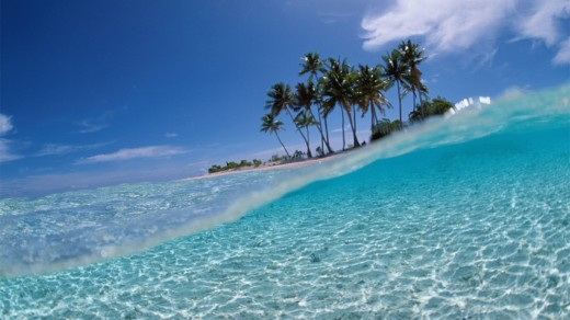 27 HD Tropical Island Wallpapers   WordPress Aisle 520x292