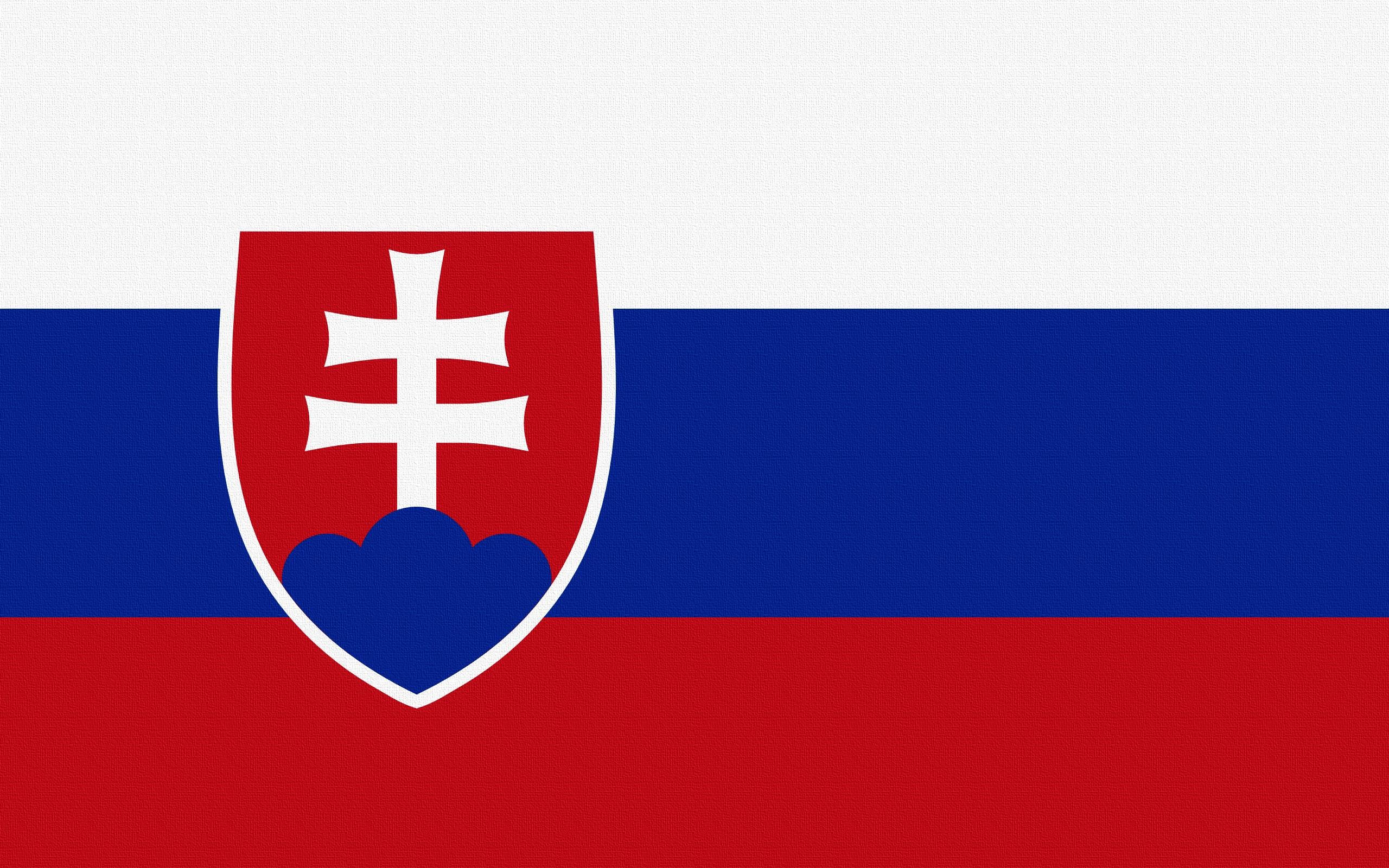 Download wallpaper 2560x1600 slovakia flag symbols widescreen 16 2560x1600
