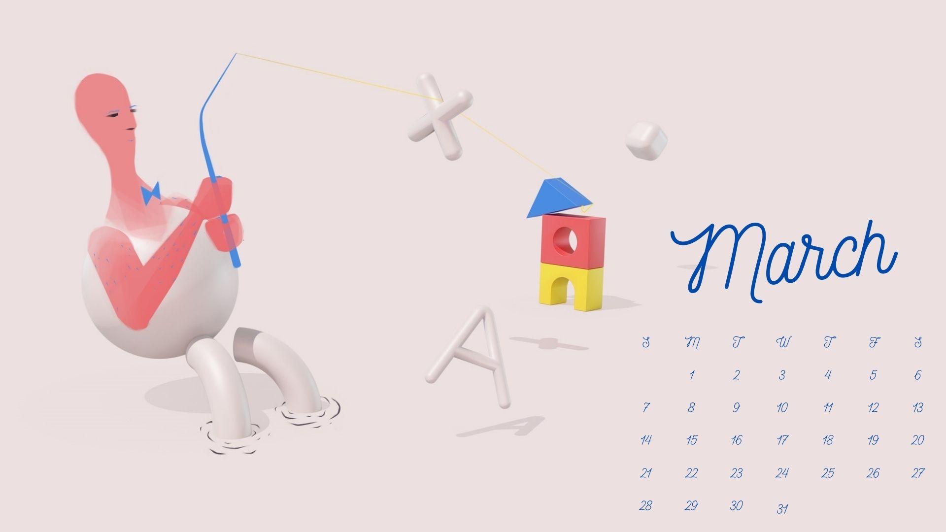March 2021 Calendar HD Wallpapers Download Calendar 2021