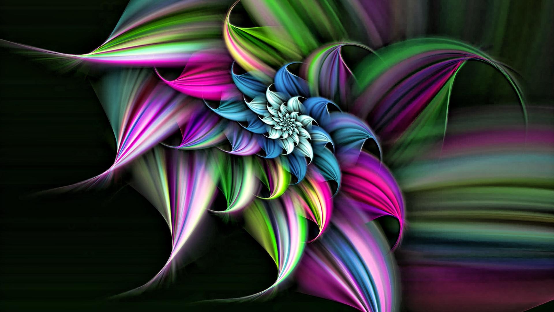 3D Flower HD Wallpapers 1920x1080