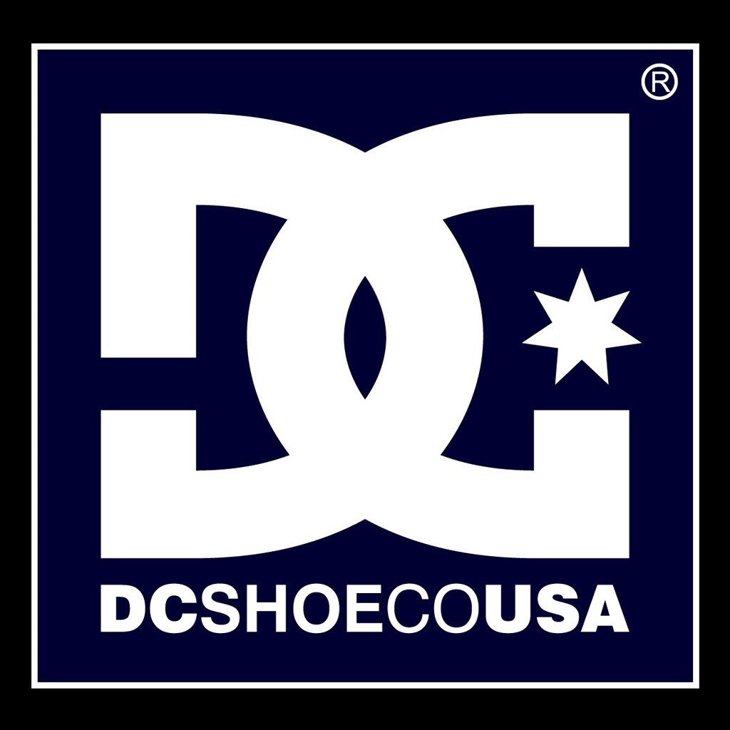 This trendy DC Shoe Company background for your Ipad 1024x1024