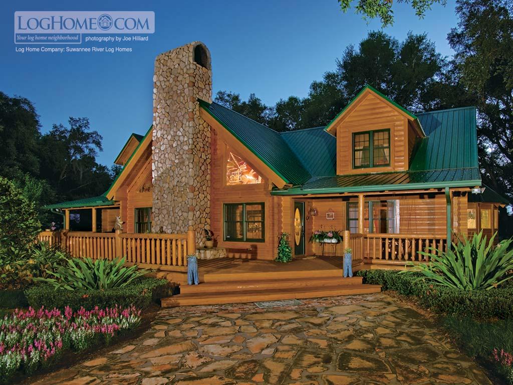 Log Home Lifestyle Desktop Backgrounds Log Home Living Log Home 1024x768
