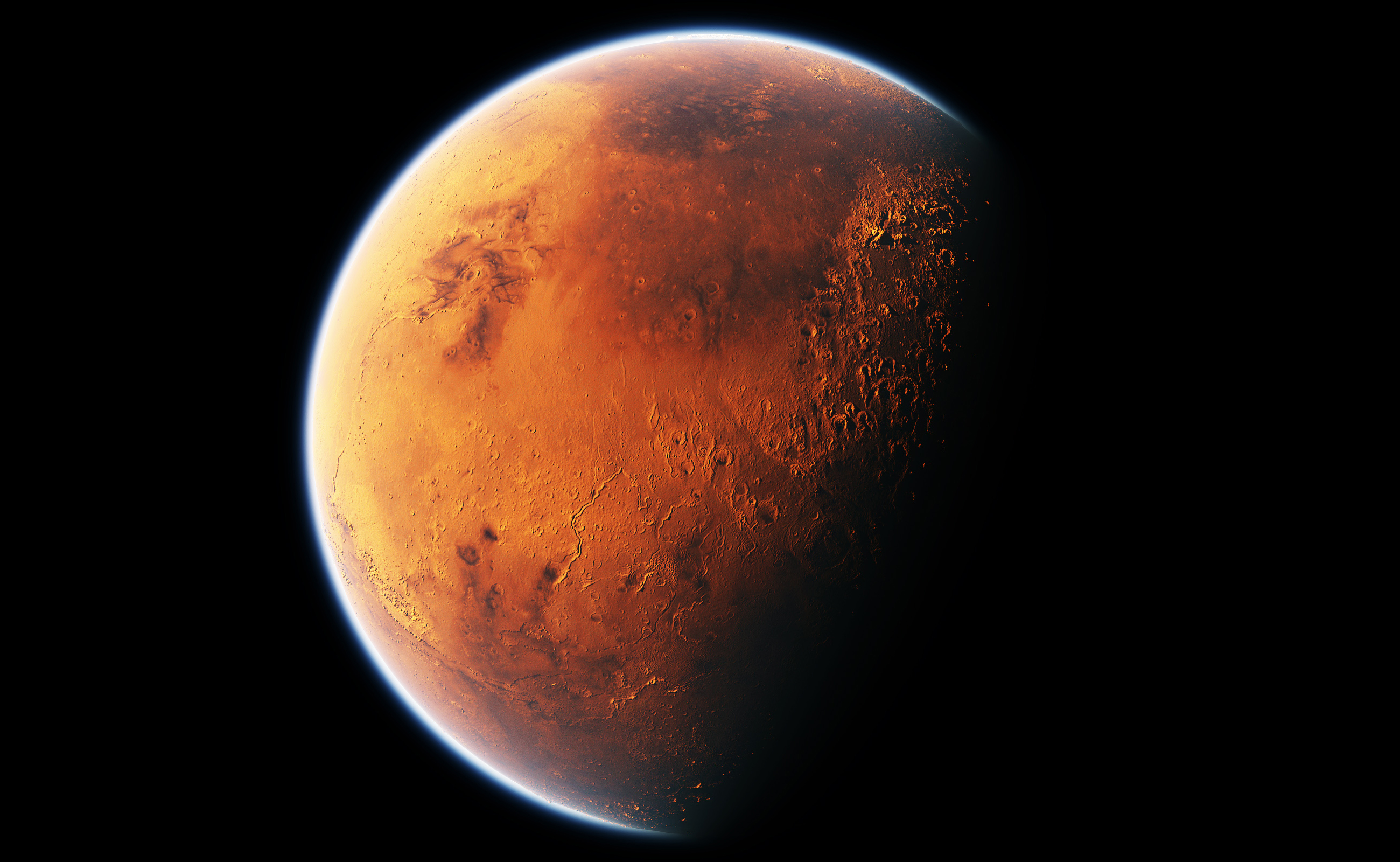 Mars Black wallpaper 2600x1600 132925 WallpaperUP 2600x1600