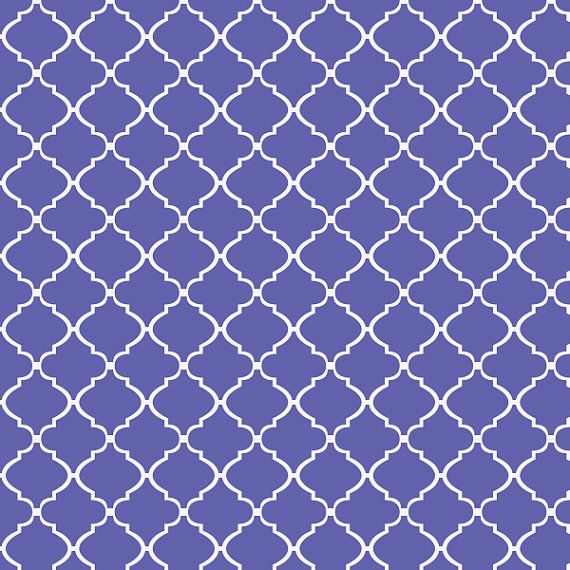 Removable Wallpaper  Moroccan Lattice Purple  Peel Stick Self 570x570