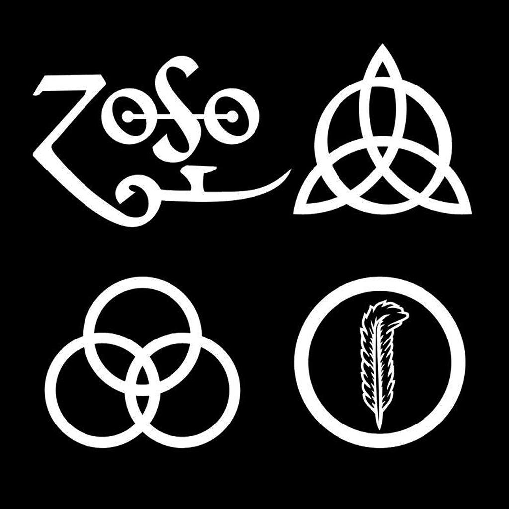 Led Zeppelin Symbols Png