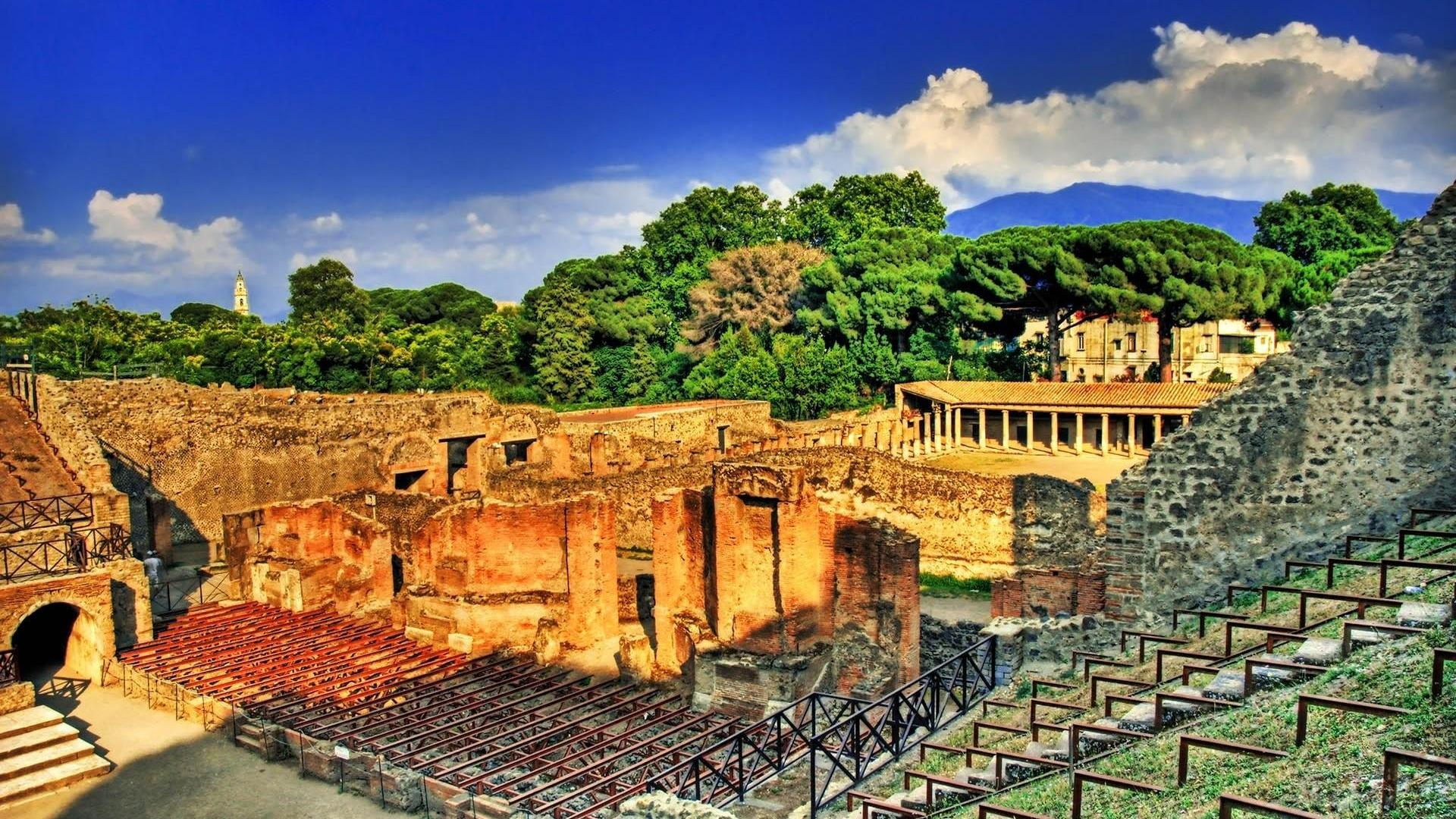 Amphitheatre Of Pompeii Wallpaper 5   1920 X 1200 stmednet 1920x1080