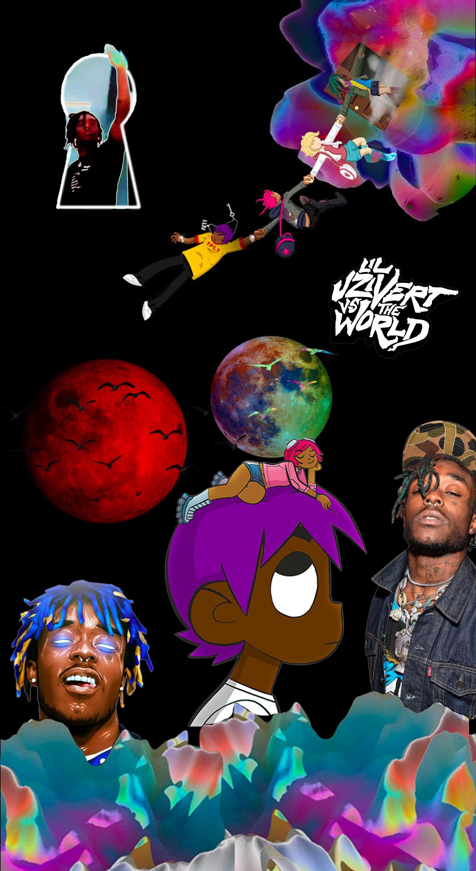 made a wallpaper for iphone x lemme know how it is liluzivert