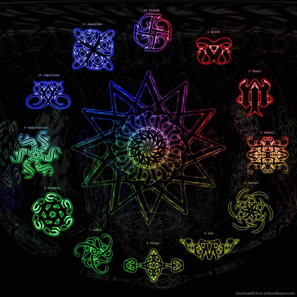 astrology wallpaper   wwwhigh definition wallpapercom 1024x1024