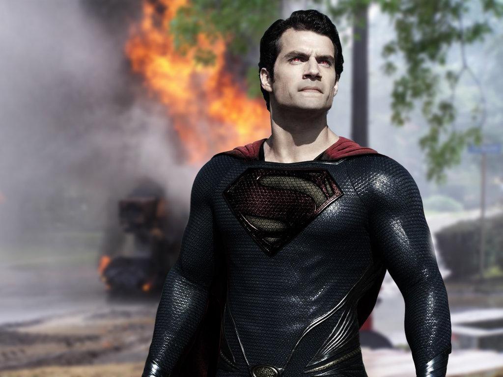 Henry Cavill as Evil Superman by jmariamellinas 1024x768