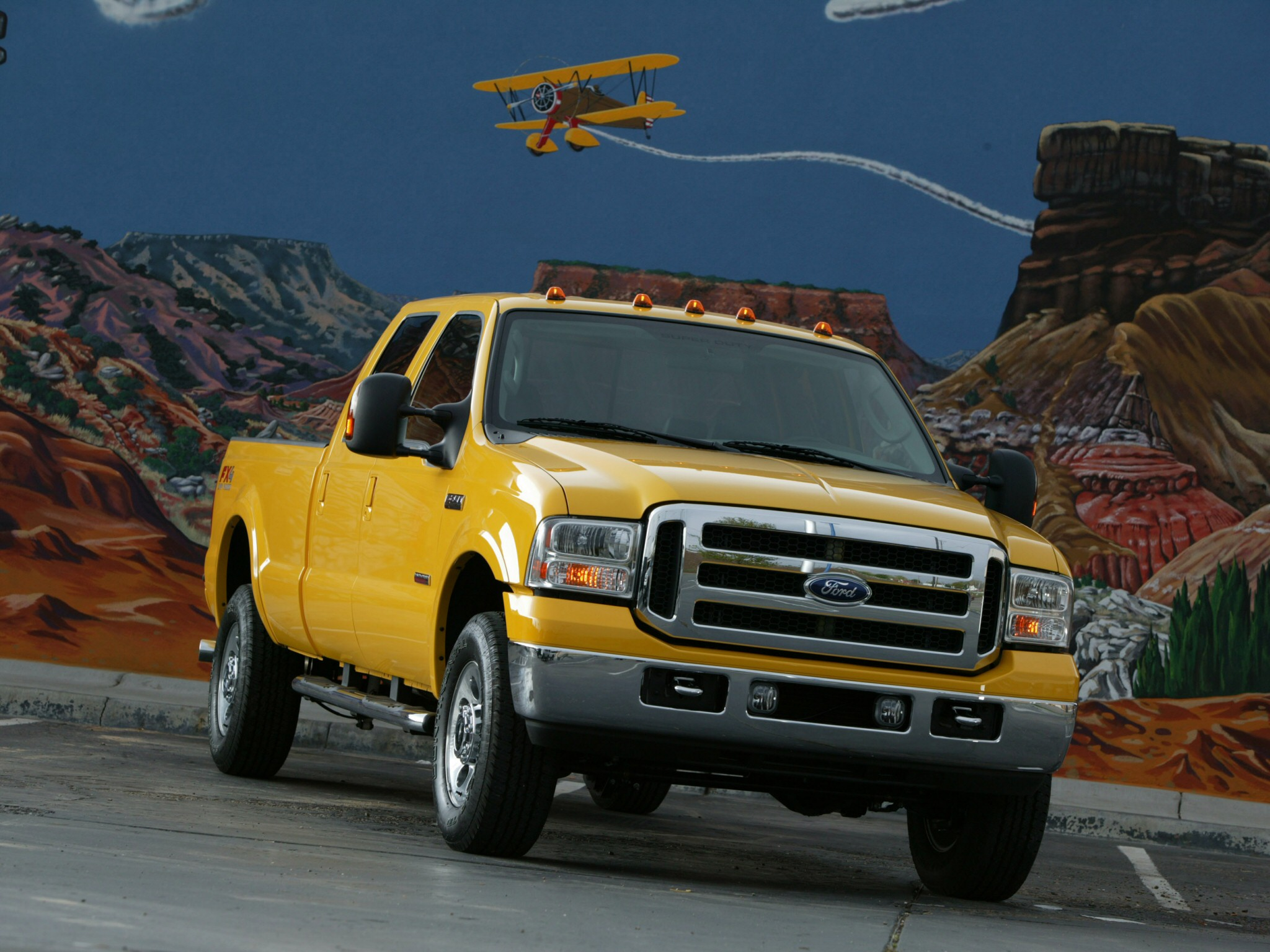 2005 Ford F 350 SuperDuty truck 4x4 d wallpaper background 2048x1536