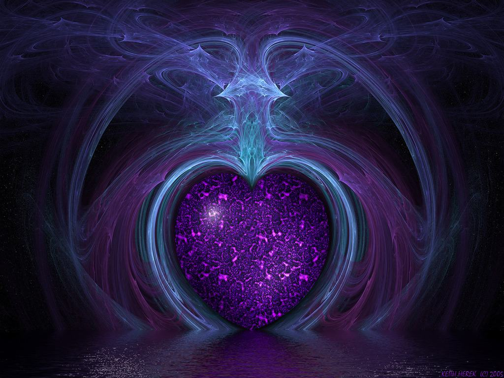 Purple Heart Wallpaper Screensavers Wallpapers wallpapers backgrounds 1024x768