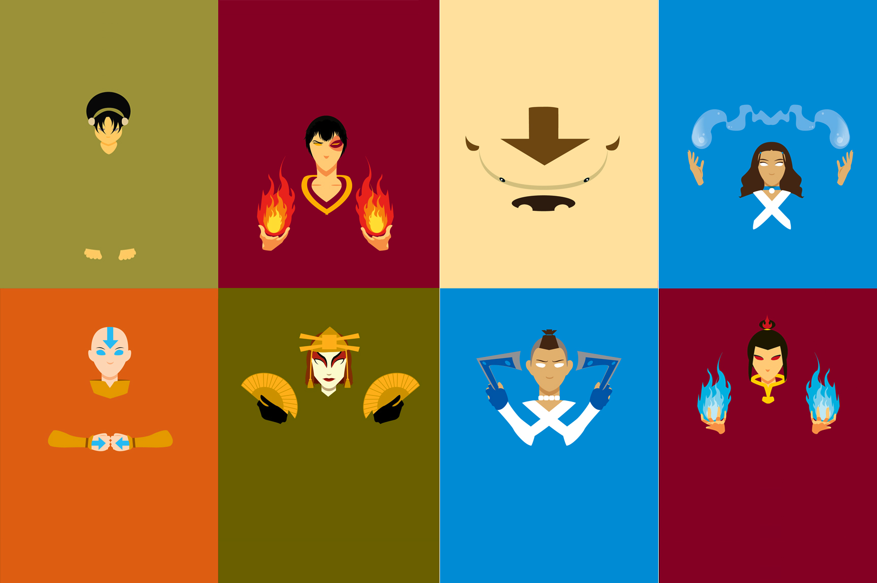 Avatar The Last Airbender Wallpaper and Background Image 1728x1150