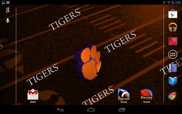 Clemson Live Wallpaper HD Screenshot 10 614x384