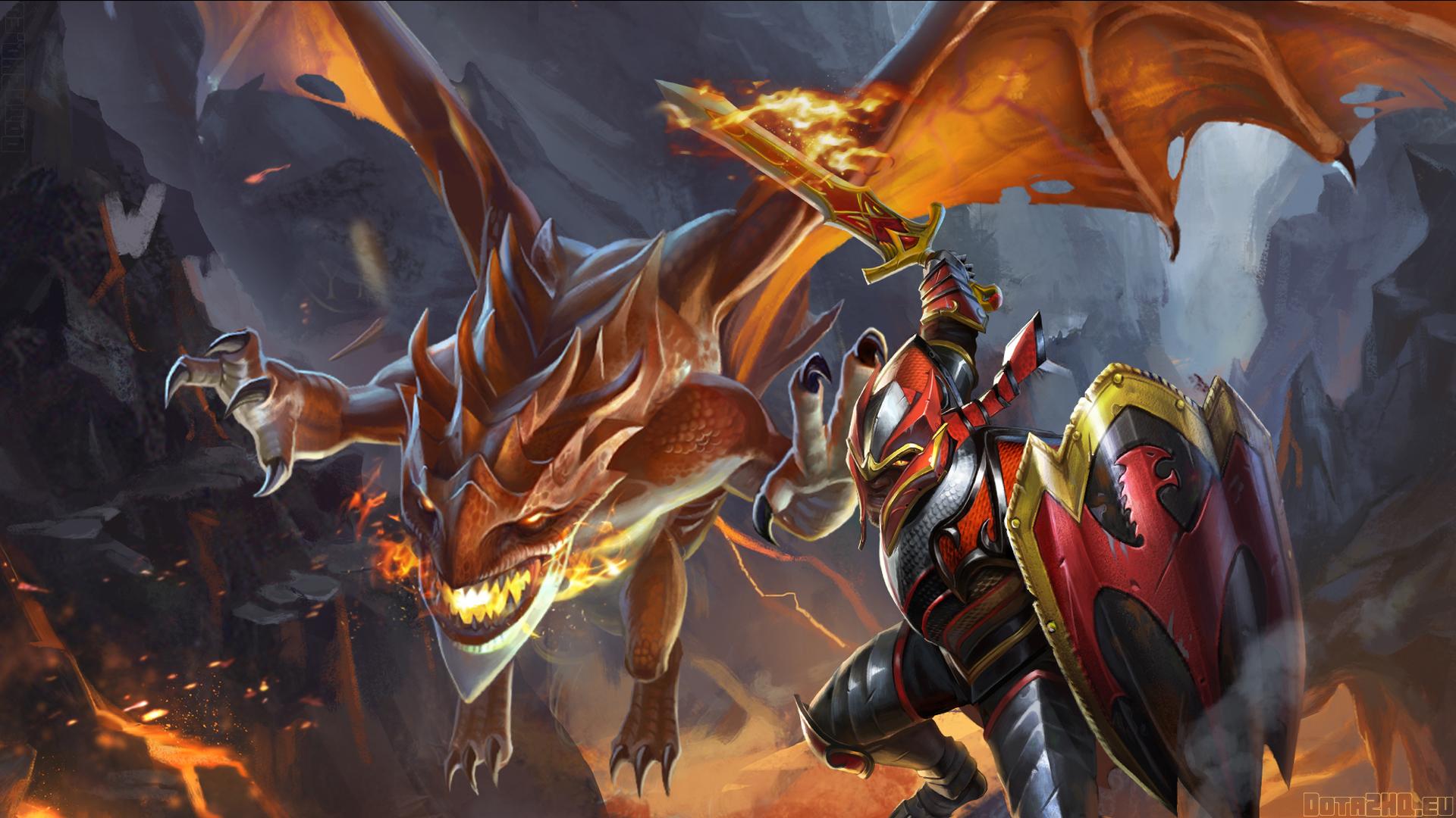 Davion Dragon knight Dota 2 Wallpaper Background Full HD 1080p 1920x1080