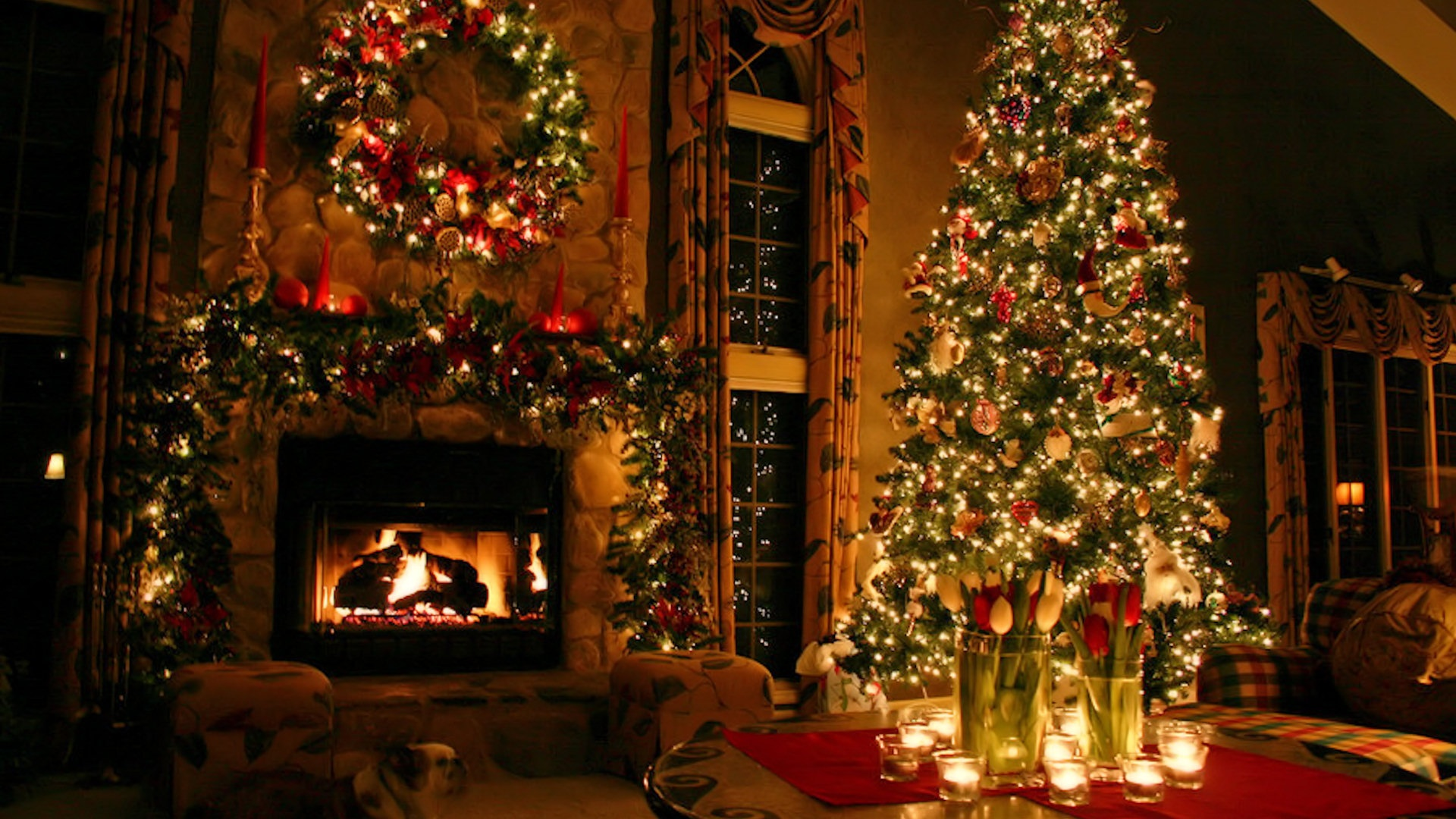 Christmas background pictures for desktop   SF Wallpaper 1920x1080