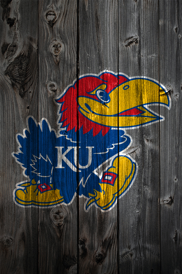 Kansas Jayhawks Wood iPhone 4 Background   a photo on Flickriver 640x960