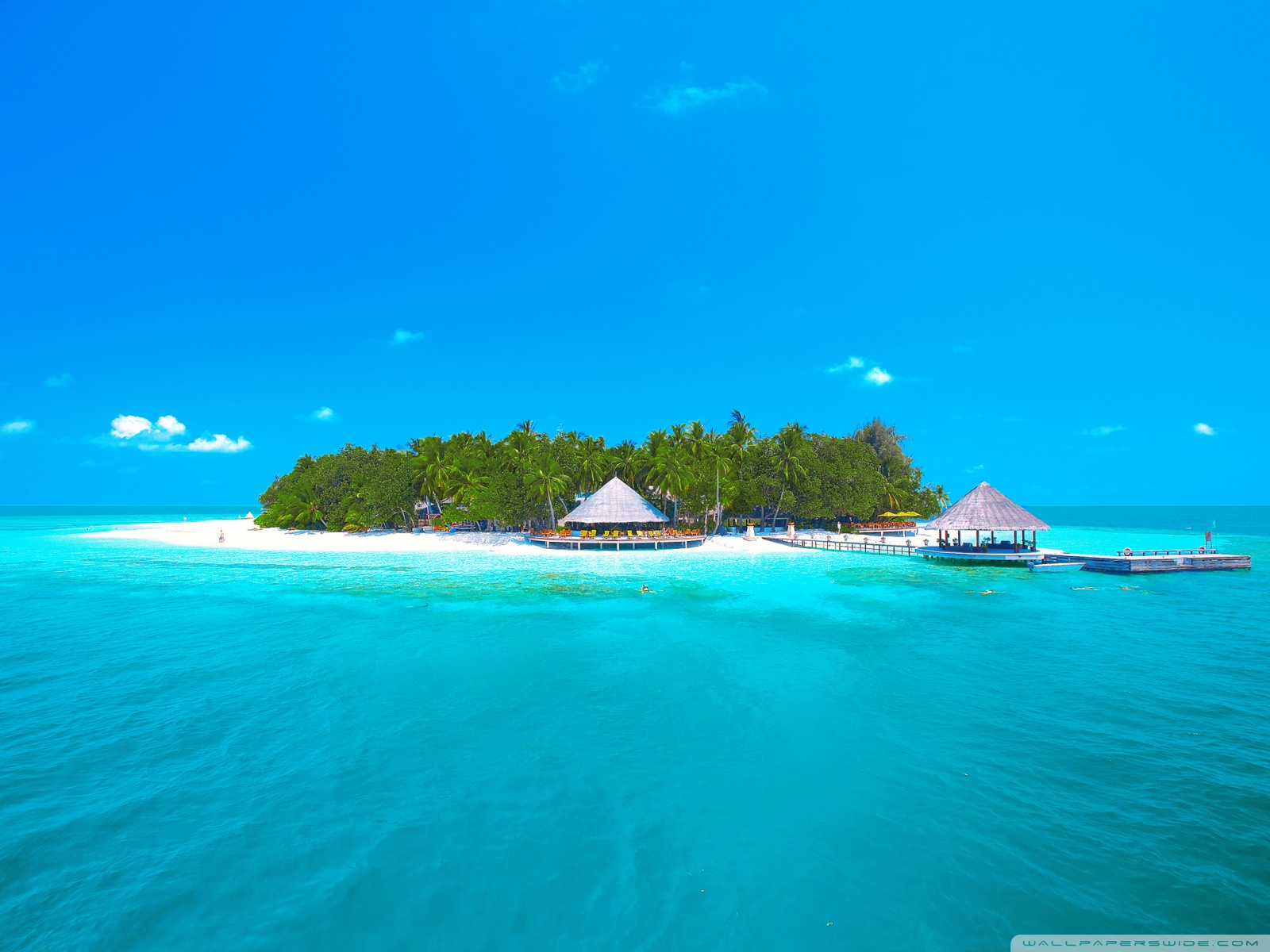 Tropical Island Beach Ambience Sound: Free Tropical Paradise Wallpaper