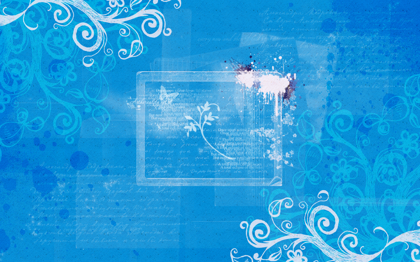 blue wallpaper blue wallpaper designs 1440x900