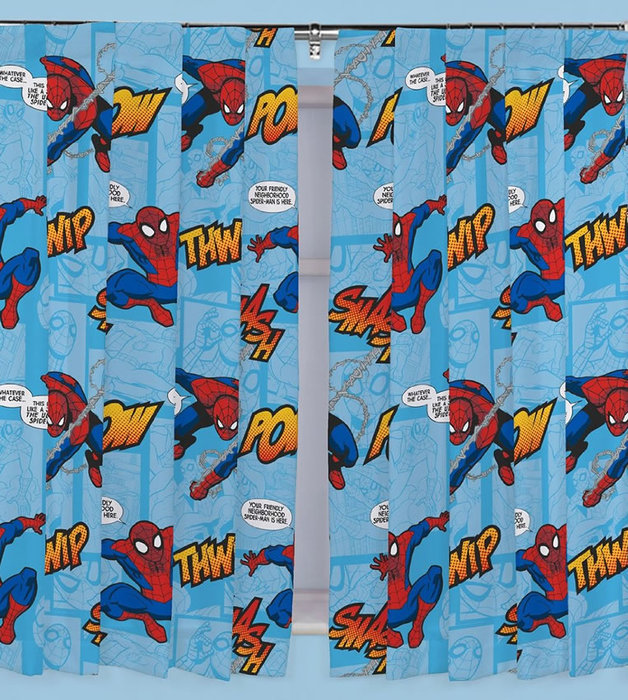 Childrens Rooms Spiderman Spiderman Curtains Thwip   54s 628x700