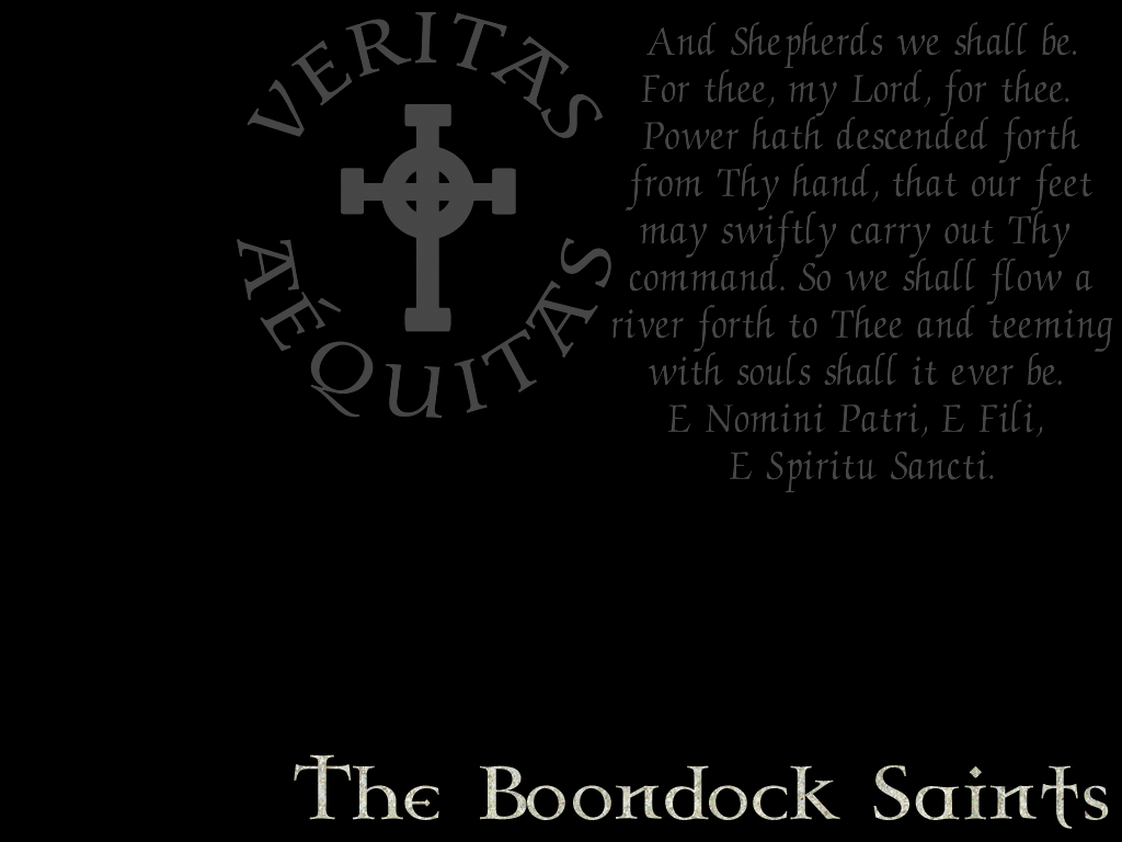 Irish Prayer Boondock ...