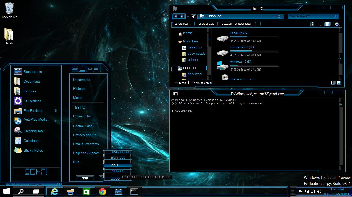 skins themes windows utilities windows 10 2014 2015 newthemes 1366x768