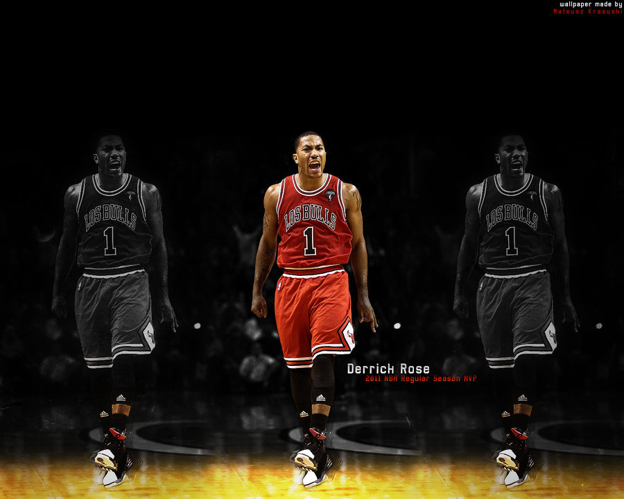 Derrick Rose   2011 NBA RS MVP by Kraso 900x720