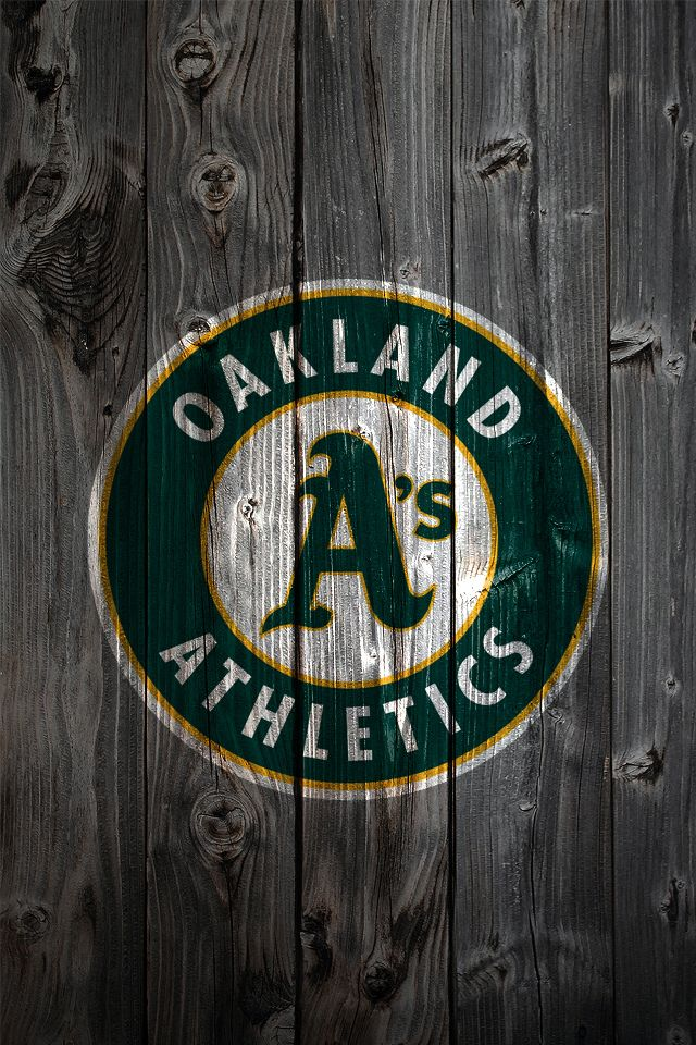 Oakland Athletics iPhone Wallpaper Background LETS GO OAKLAND 640x960
