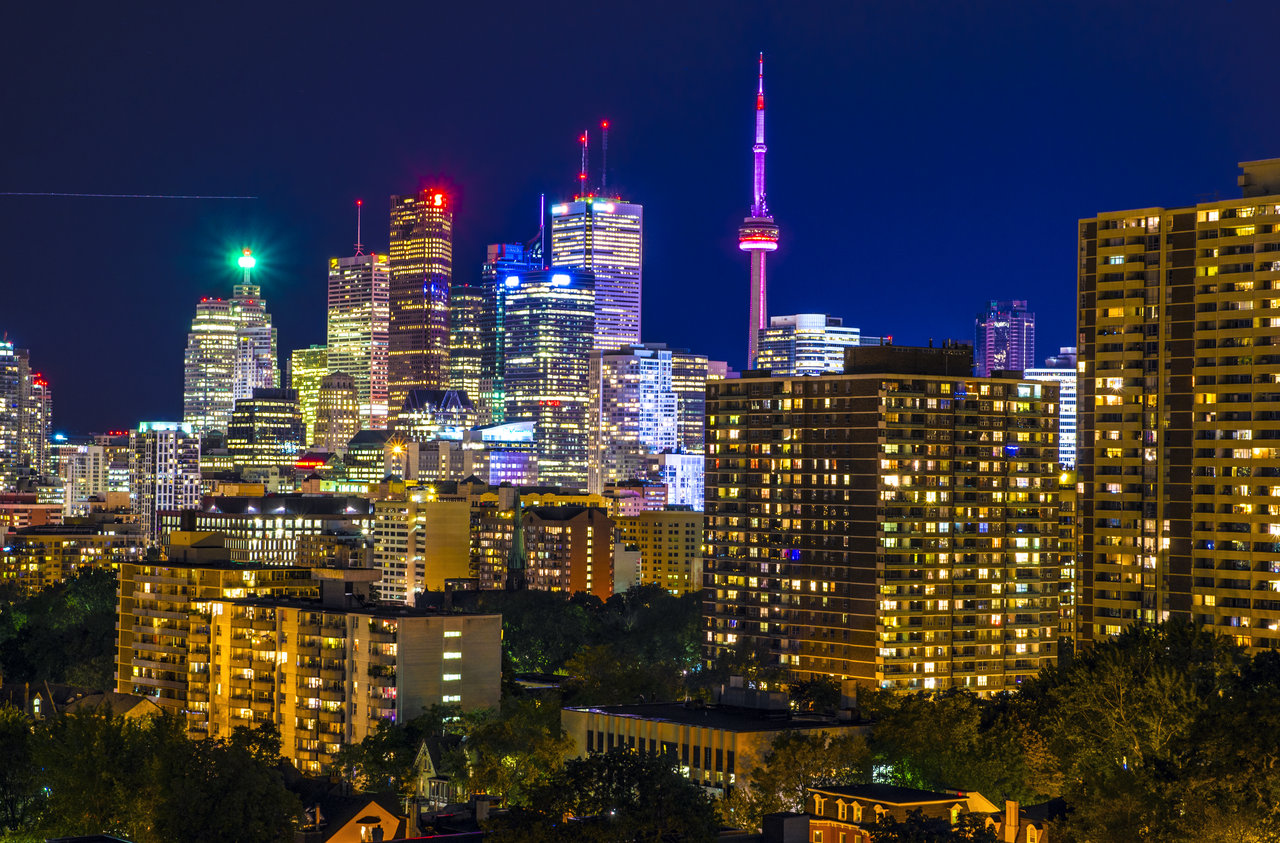 skylines 2012 2015 jasonwilde toronto skyline from a rooftop terrace 1280x843