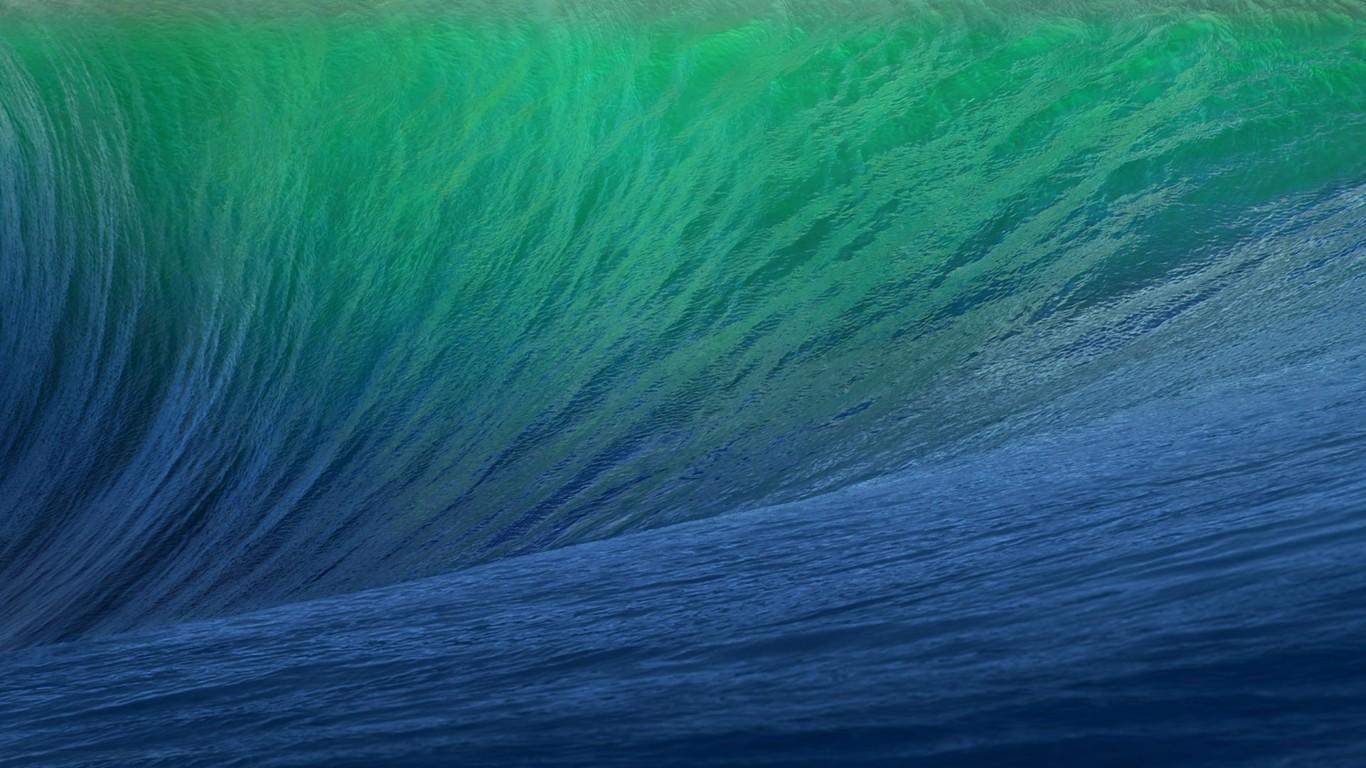 Ocean wave wallpaper 9858 1366x768