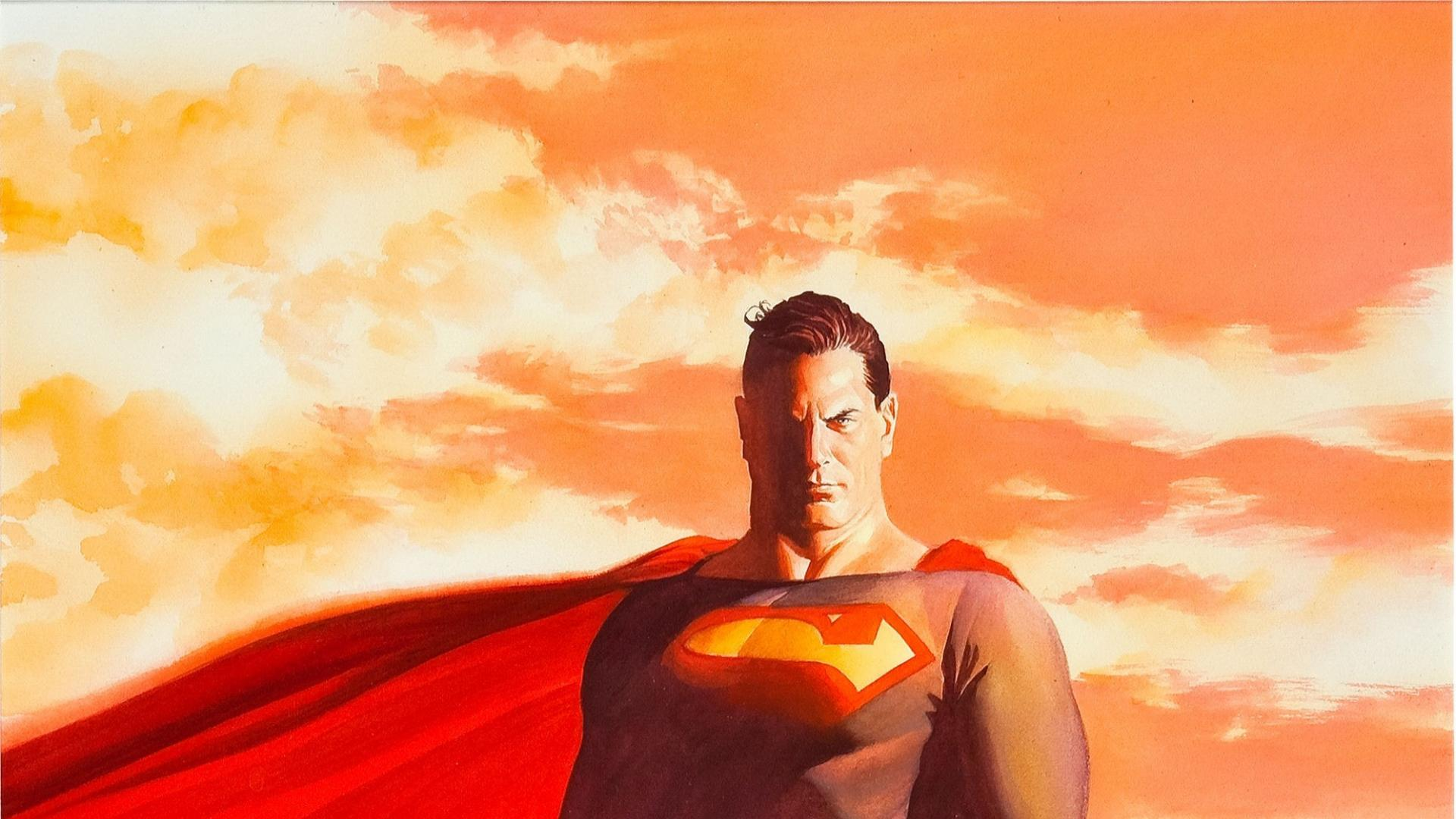 Dc Comics Superman Alex Ross Wallpaper 77950 1920x1080