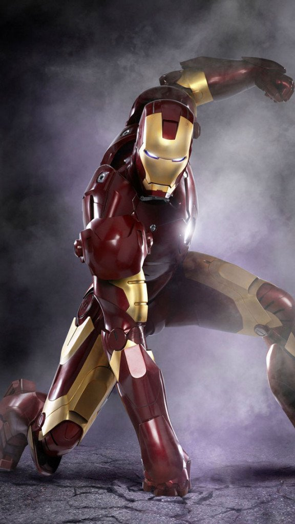 Iron Man iPhone 6 6 Plus and iPhone 54 Wallpapers 576x1024