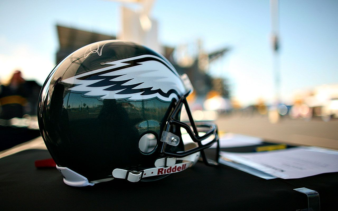 helmet philadelphia eagles helmet desktop wallpaper up wallpaper 1280x800
