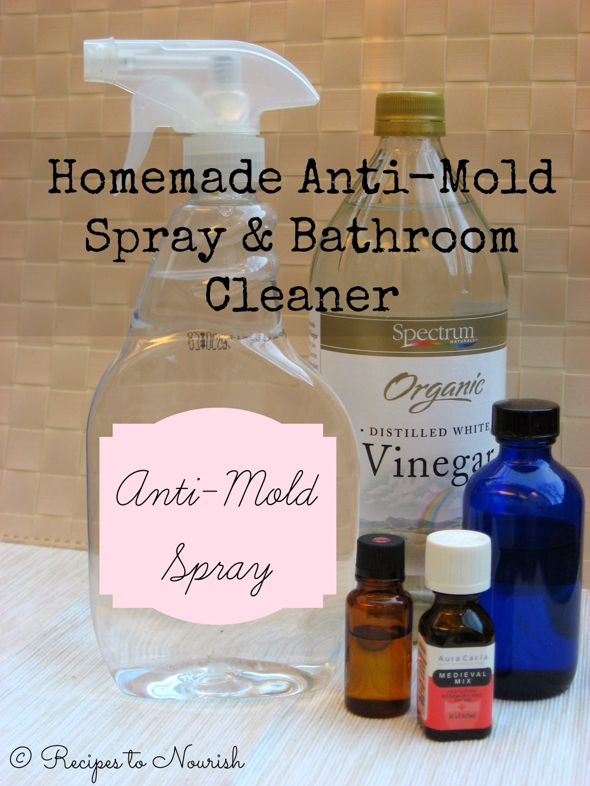 Homemade Anti Mold Spray Bathroom Cleaner 10 Ways to Reduce 1200x1600