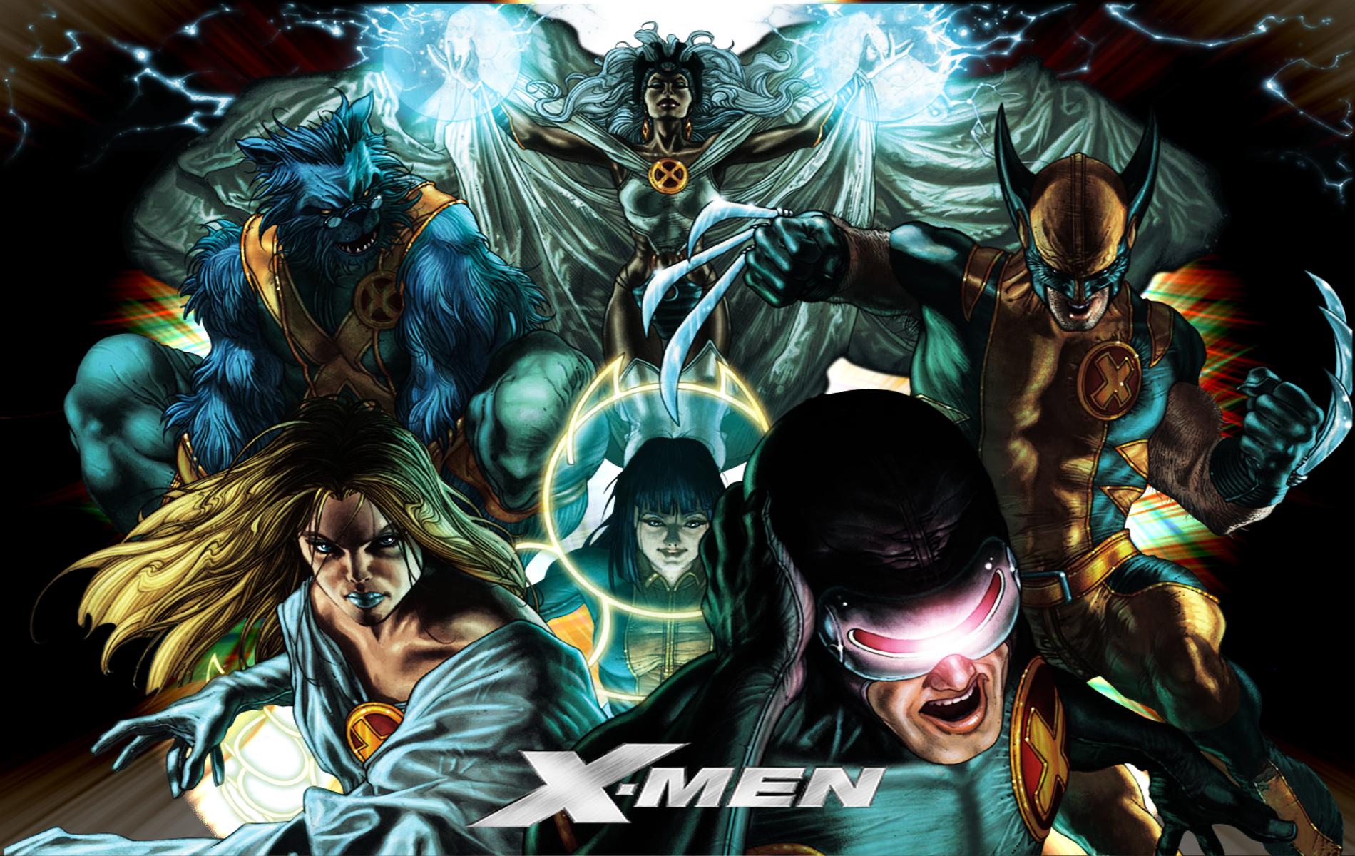 Astonishing X Men artwork by Simone Bianchi 2010Wallpaper 1900x1200