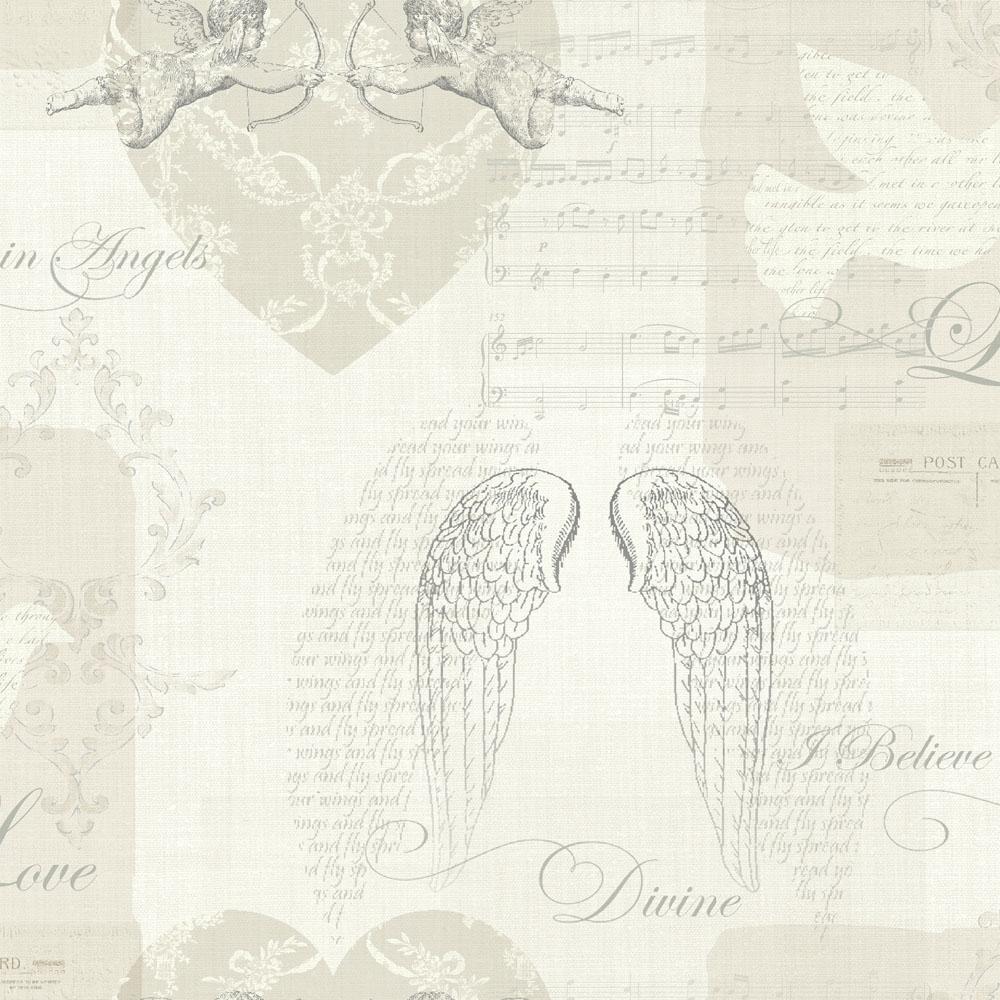 Arthouse Cherub Love Poems Wallpaper Natural   Wallpaper from I 1000x1000
