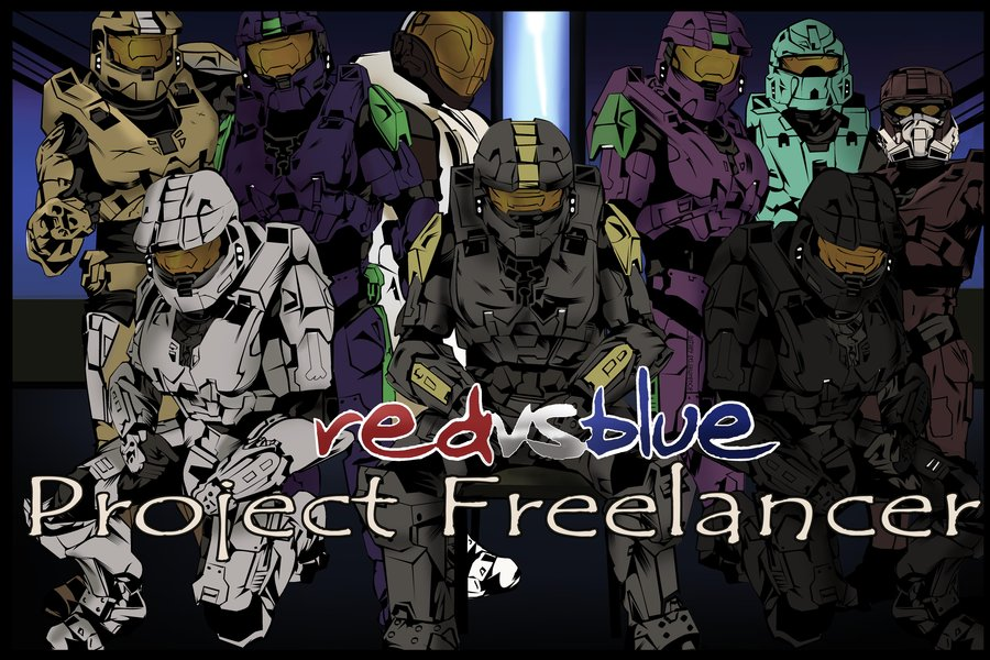 Red Vs Blue Wallpaper Caboose