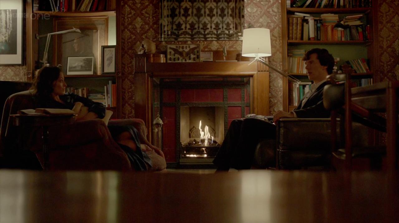 Sherlock Apartment Wallpaper Wallpapersafari