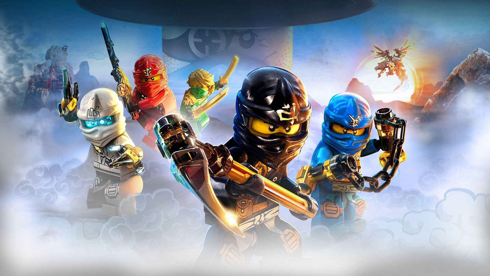 Ninjago Accueil   Ninjago LEGOcom 1920x1080