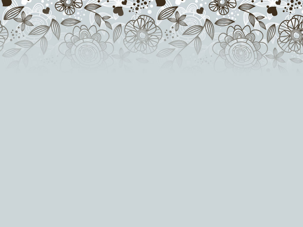 Free Download Grey Floral Pattern Backgrounds For Powerpoint