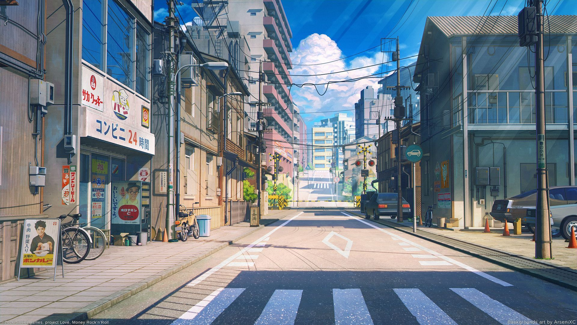 Anime Street Wallpapers   Top Anime Street Backgrounds 1920x1080